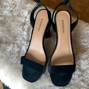 Just fab heeled sandals.